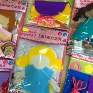 zabawki z tkaniny