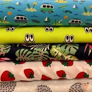 jersey rodzaje tkanin